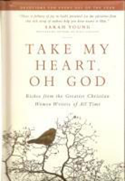 Picture of TAKE MY HEART, OH GOD 365 devotions in deluxe hardback