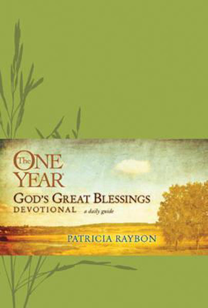Picture of ONE YEAR God's Great Blessings Devotiona
