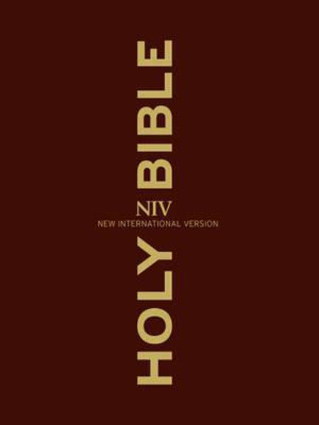 Picture of NIV CLEAR PRINT LARGE PRINT hbk