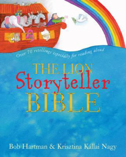 Picture of LION STORYTELLER BIBLE with 4 CDs