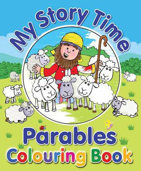 Picture of MY STORY TIME PARABLES COLOURING BOOK