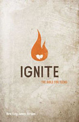 Picture of NKJV IGNITE Youth Bible Teens Softcover