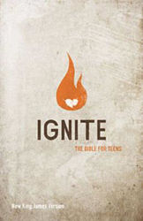 Picture of NKJV IGNITE Youth Bible Teens Hardcover