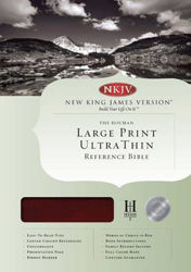 Picture of NKJV LARGE PRINT ULTRATHIN REFERENCE