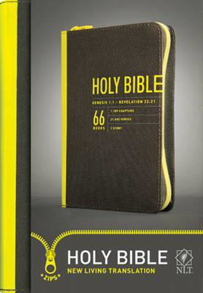 Picture of NLT YOUTH TEEN BIBLE /YELLOW ZIPPED