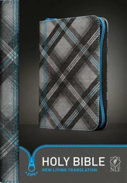 Picture of NLT YOUTH TEEN BIBLE/BLUE ZIPPED