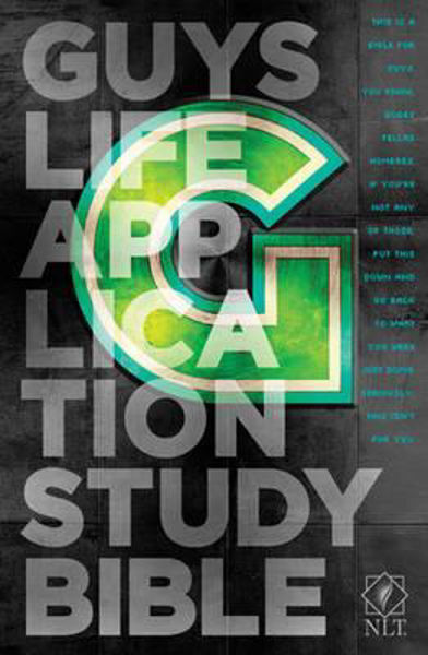 Picture of NLT GUYS Life Application Study Bible
