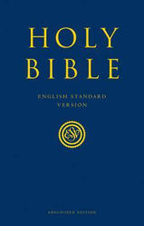 Picture of ESV ANGLICIZED GIFT AND AWARD NAVY