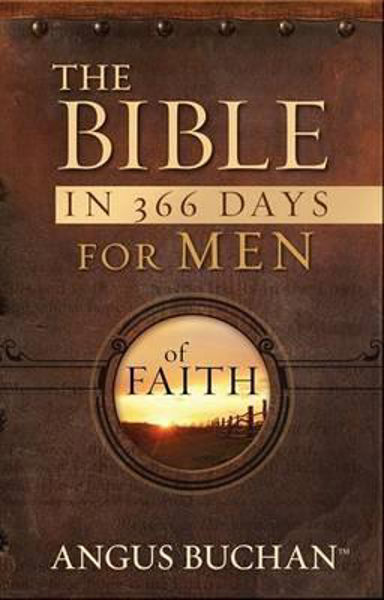 Picture of THE BIBLE IN 366 DAYS FOR MEN OF FAITH