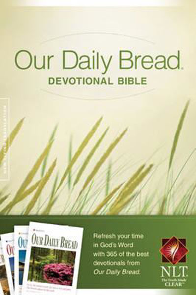 Picture of NLT OUR DAILY BREAD DEVOTIONAL BIBLE