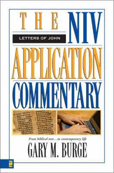 Picture of NIV APPLICATION COMMENTARY LETTERS of JOHN
