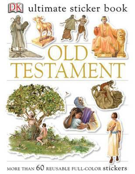 Picture of ULTIMATE STICKER BOOK/OLD TESTAMENT