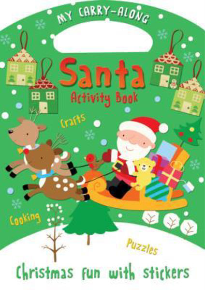 Picture of MY CARRY-ALONG SANTA ACTIVITY BOOK