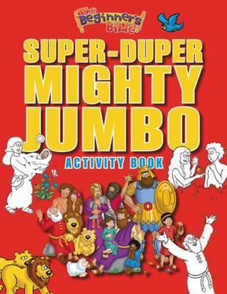 Picture of SUPER-DUPER MIGHTY JUMBO ACTIVITY BOOK