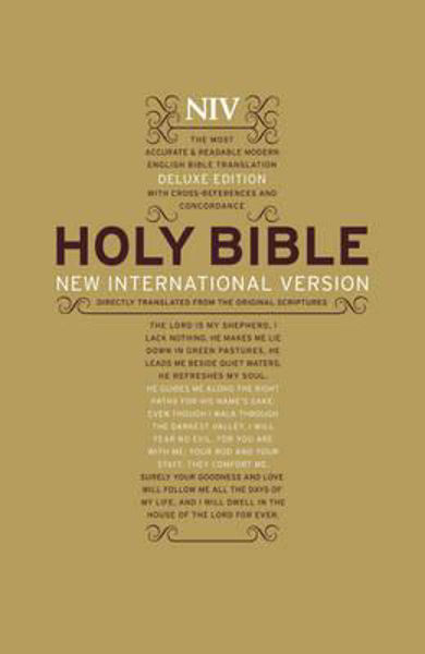 Picture of NIV 2011/DELUXE Reference Large Print Bold text