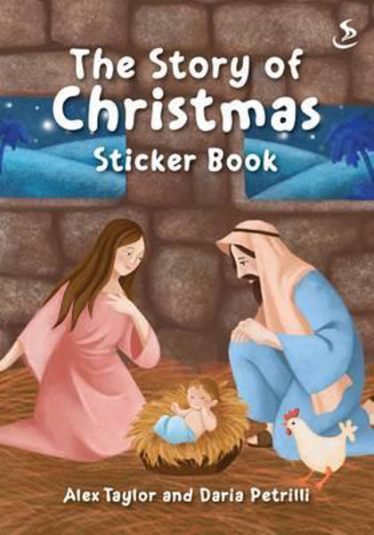 Picture of THE STORY OF CHRISTMAS STICKER BOOK