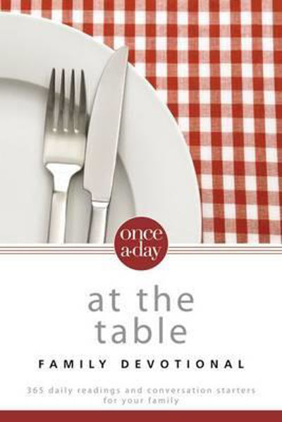 Picture of ONCE A DAY AT THE TABLE