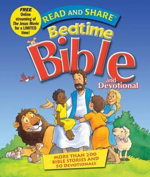 Picture of READ AND SHARE BEDTIME BIBLE devotional