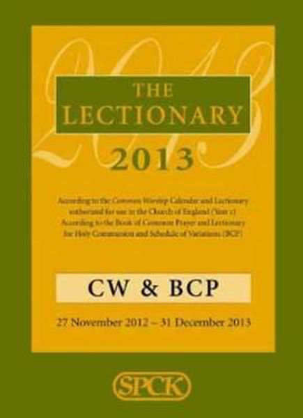 Picture of THE LECTIONARY 2013 CW & BP