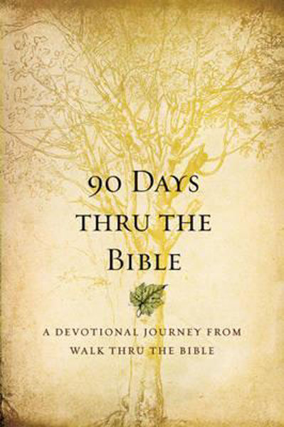 Picture of 90 DAYS THRU THE BIBLE