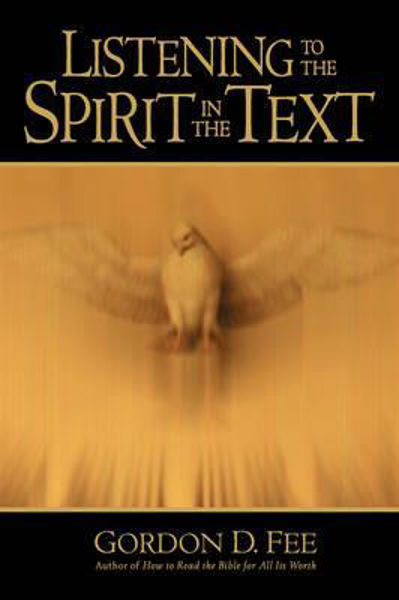 Picture of LISTENING TO THE SPIRIT IN THE TEXT