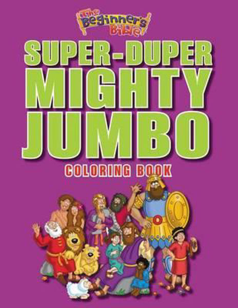 Picture of SUPER-DUPER MIGHTY JUMBO COLOURING BOOK