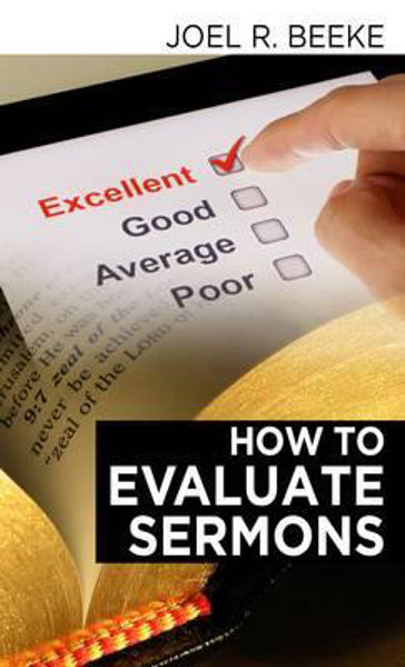 Picture of HOW TO EVALUATE SERMONS