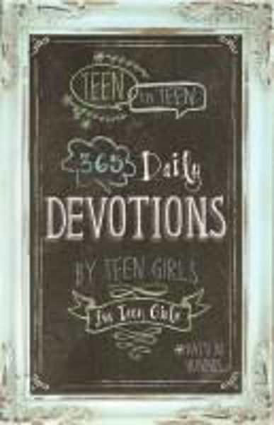 Picture of TEEN TO TEEN 365 DAILY DEVOTIONS FOR GIRLS