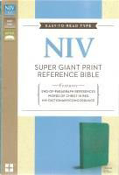 Picture of NIV 2011/SUPER GIANT PRINT TruTone Turquoise