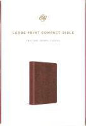 Picture of ESV LARGE PRINT COMPACT TruTone Berry