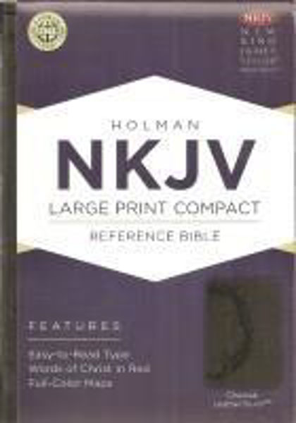 Picture of NKJV B&H LARGE PRINT Compact Charcoal