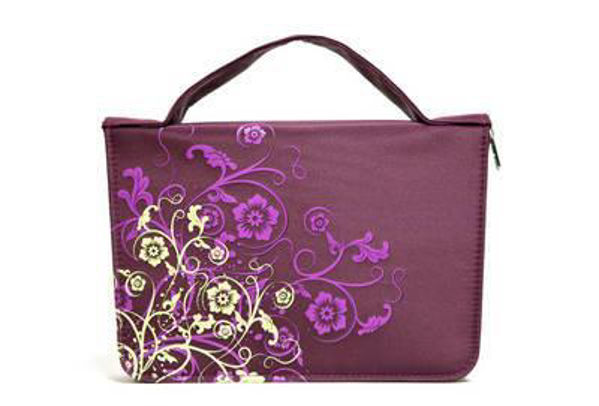Picture of BIBLE CASE PLUM LARGE