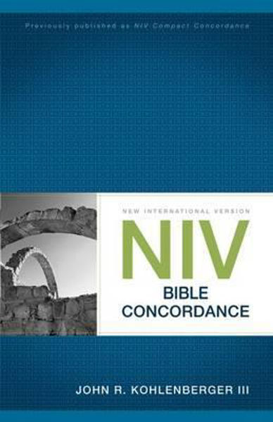 Picture of NIV 2011 BIBLE CONCORDANCE