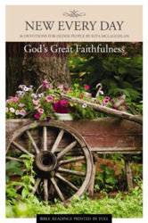 Picture of NEW EVERY DAY/GOD'S GREAT FAITHFULNESS