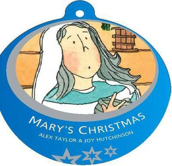 Picture of BAUBLE BK/MARY'S CHRISTMAS