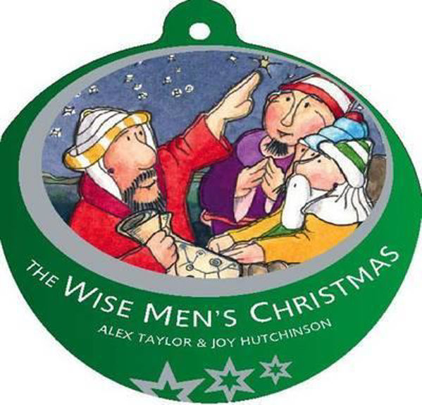 Picture of BAUBLE BK/WISE MEN'S CHRISTMAS