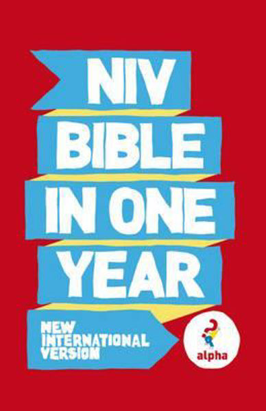 Picture of NIV 2011/BIBLE IN ONE YEAR Alpha pbk
