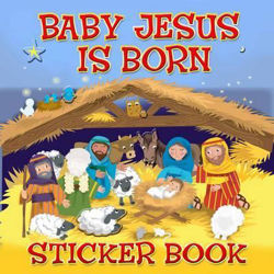 Picture of BABY JESUS IS BORN Sticker Book