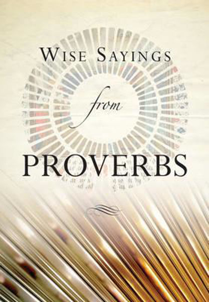 Picture of WISE SAYINGS FROM PROVERBS