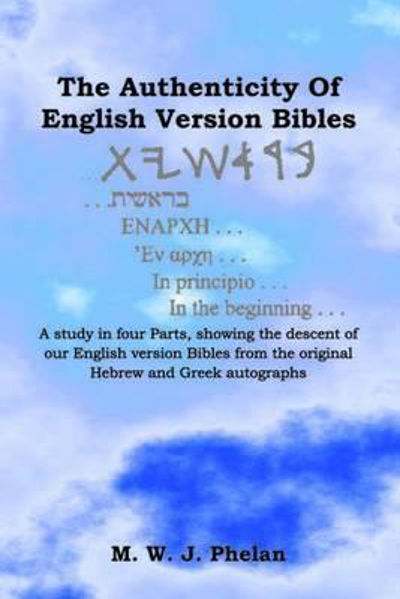 Picture of THE AUTHENTICITY OF ENGLISH VERSIONS