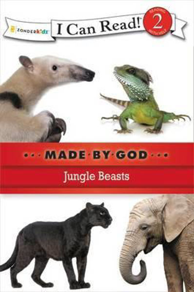 Picture of I CAN READ#2/JUNGLE BEASTS