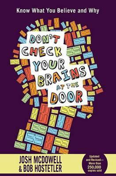 Picture of DON'T CHECK YOUR BRAINS AT THE DOOR