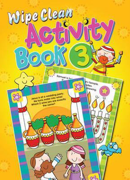 Picture of WIPE CLEAN ACTIVITY BOOK 3