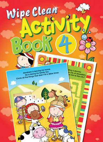 Picture of WIPE CLEAN ACTIVITY BOOK 4
