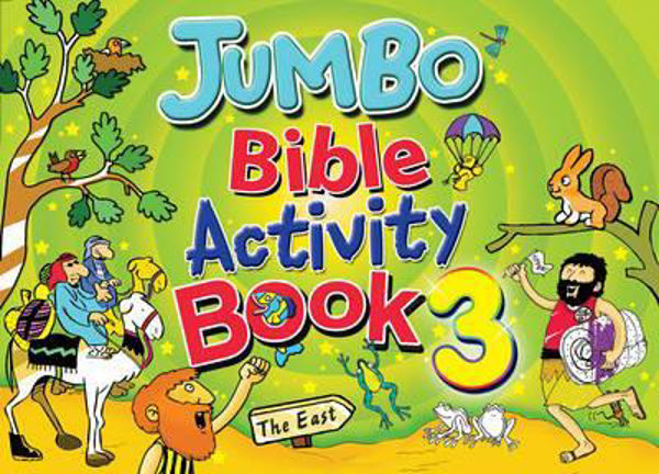 Picture of JUMBO BIBLE ACTIVITY BOOK/#3 Book 3