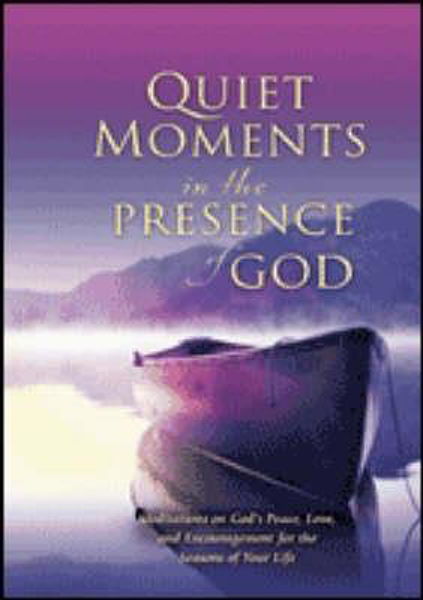 Picture of MOMENTS OF PEACE IN THE PRESENCE OF GOD