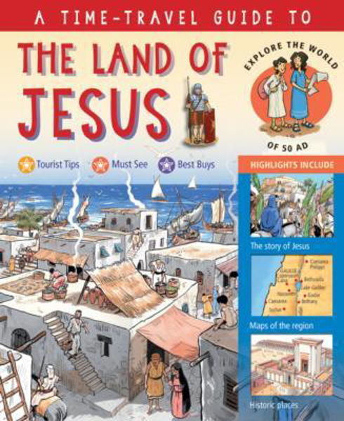 Picture of TIME TRAVEL GUIDE/THE LAND OF JESUS