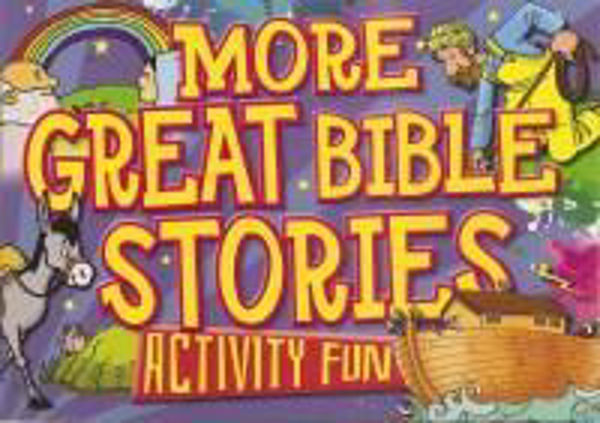 Picture of MORE GREAT BIBLE STORIES ACTIVITY FUN