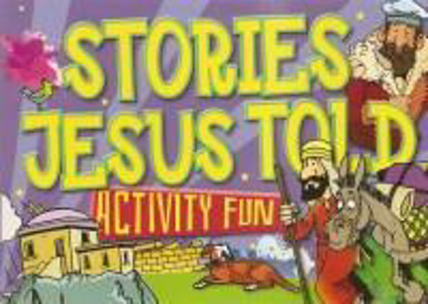 Picture of STORIES JESUS TOLD ACTIVITY FUN