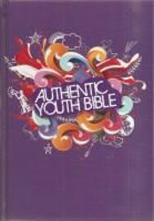 Picture of ERV AUTHENTIC YOUTH BIBLE Purple Hardback